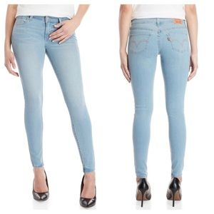 Levi's Skinny Jeans 535 in Bluewater Dance